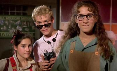 "Amy Linker, Merrick Butler and Sarah Jessica Parker in a scene from ""Square Pegs,"" a 1982 series focused on the New Wave generation."
