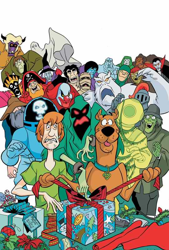 RUH-ROH!: We need a handbook of all the Scooby-Doo villains ever -- from the first series to the most recent movies.